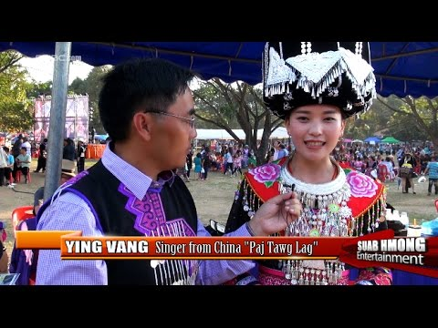 "Suab Hmong E-News:  Exclusive interviewed Ying Vang, a singer from China ""Paj Tawg Lag"""