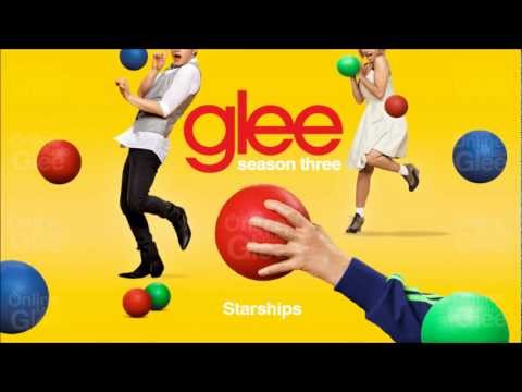 Starships - Glee [HD Full Studio]