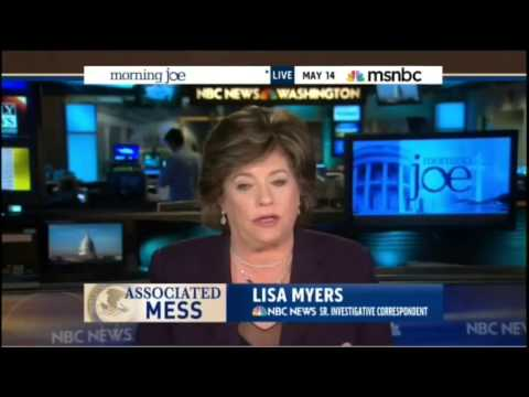 NBC's Lisa Myers: Obama Admin has History of Intimidating Reporters & Sources