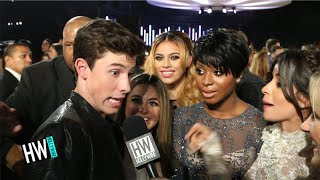 Fifth Harmony Crashes Shawn Mendes Interview! (VMAs 2015) | Hollywire