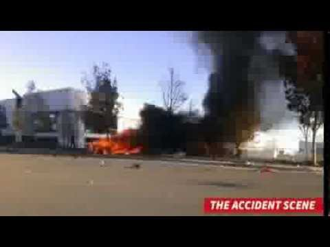 Muerte de Paul Walker - (video) Escena de Accidente - Muere actor de RAPIDO Y FURIOSO