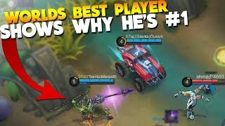 Top 1 Player & BluePanda in The Same Team! (Saints WarPath) Mobile Legends Gameplay