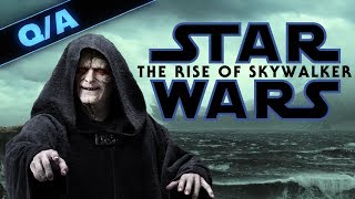 Is Palpatine in The Rise of Skywalker a Good Idea + GIVEAWAY! Star Wars Explained Weekly Q&A