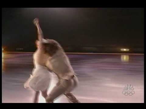 "Naomi Lang & Peter Tchernyshev skate to ""I've Got You Under My Skin"" performed by Frankie Valli & the Four Seasons."