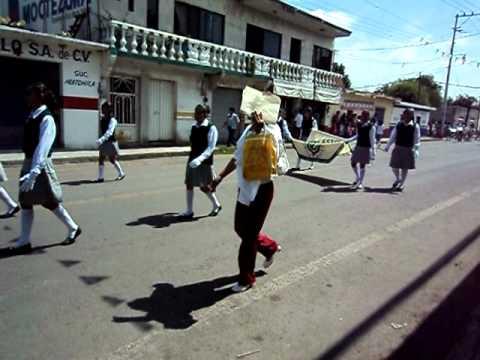 Desfile del 16 de Septiembre de 2010, Huitchila, Morelos.