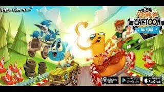 Formula Cartoon All-Stars  - Android / iPhone / iPad GamePlay Trailer