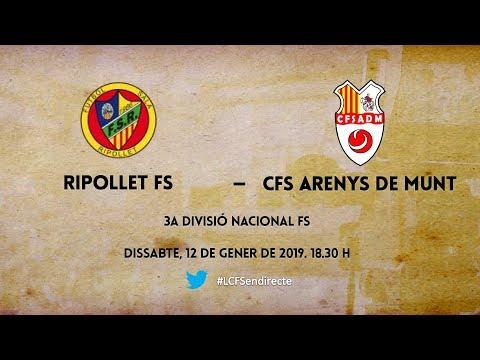 FS Ripollet - CFS Arenys de Munt (3a Divisió Nacional FS)