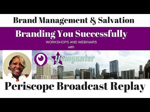 Brand Management and Salvation Part I