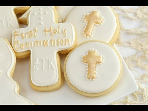 Confirmation Cookies Cake