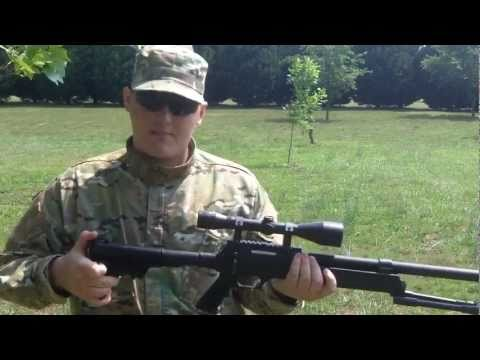 ECHO 1 ASR Advanced Sniper Rifle Review & Accuracy Test  [1080 HD]