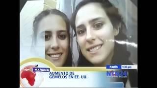 Aumento de gemelos en USA - La mañana - NTN Colombia