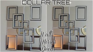 DIY DOLLAR TREE | HIGH END MIRROR WALL DECOR | DIY HOME DECOR IDEAS 2018 | PETALISBLESS