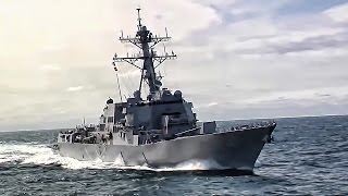 USS Spruance (DDG-111) • Guided Missile Destroyer In Action