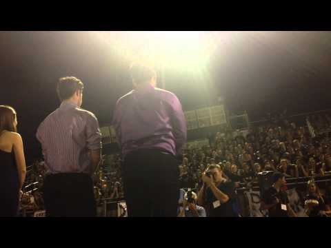 Leith Ghani Notre Dame Preparatory Home coming King 2014 NDP