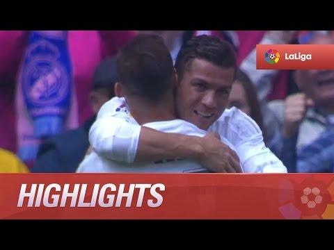 Highlights Real Madrid (4-0) SD Eibar