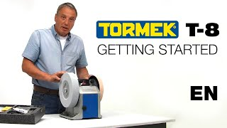 Tormek T-8 sharpening system: Getting Started with Alan Holtham