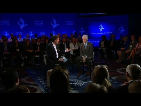 Bill Clinton on Iran's President Rouhani
