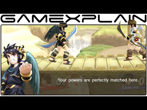 Smash Bros Wii U - Palutena's Guidance Secret (Dark Pit, Rosalina, & P...