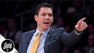 Luke Walton's job as Lakers' coach is not in jeopardy and it shouldn't be - Tracy McGrady   The Jump