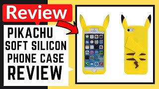 Pikachu Soft Silicone Back Case For Iphone.