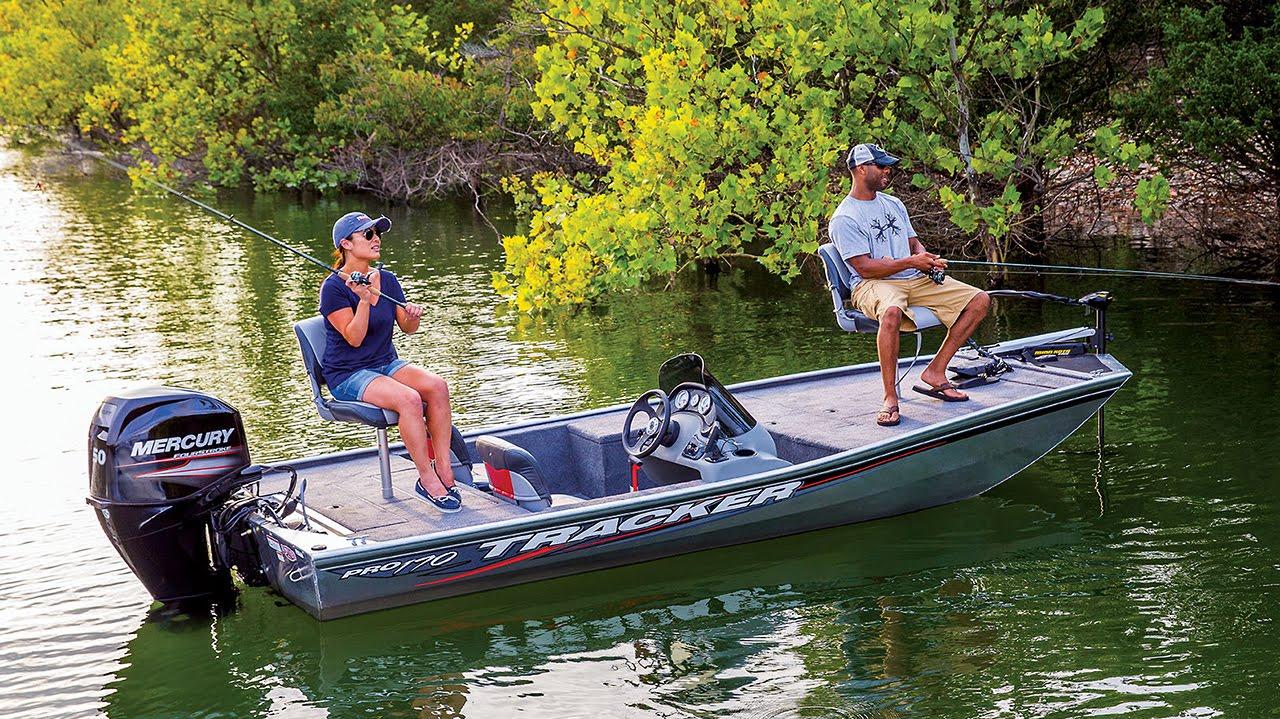 Tracker boats 2016 pro 170 mod v aluminum fishing boat for Tracker fishing boats