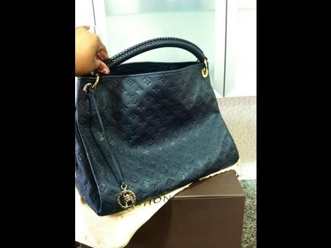 UNBOXING HAUL Louis Vuitton Artsy MM Monogram Empreinte in INFINI