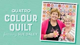 English Paper Piecing with Jenny Doan & Sue Daley - The Quatro Colour Quilt