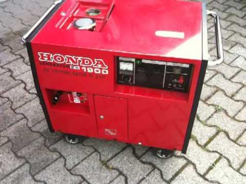 Stromerzeuger Generator Honda EX 1900 Benzin