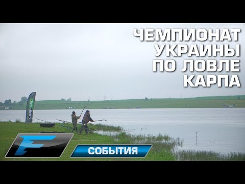 Чемпионат Украины по ловле карпа 2017