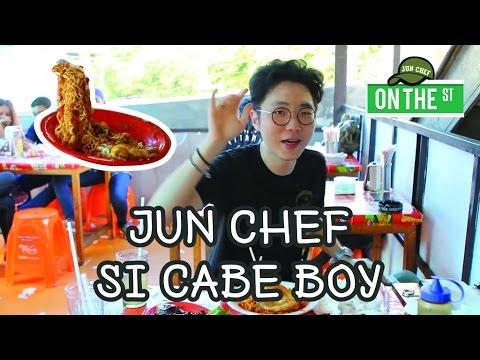 Jun Chef OTS : Jun Chef si Cabe Boy | Indomie Abang Adek Challenge