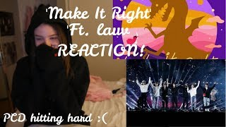 BTS (방탄소년단) 'Make It Right (feat. Lauv)' Official MV (REACTION!!!)