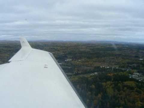Wasaya Airways PC-12 Landing in Thunder Bay.