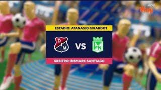 Medellin vs Nacional - Mejores jugadas | Liga Aguila 2019 1 | Fecha 10