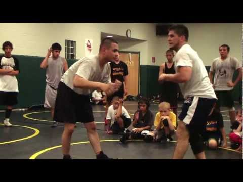 Angel Cejudo Down Bock Re-Shot II Freestyle Folkstyle Wrestling Image 1