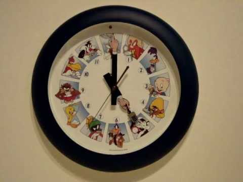 Characters Wall Clock Character Talking Wall.wmv