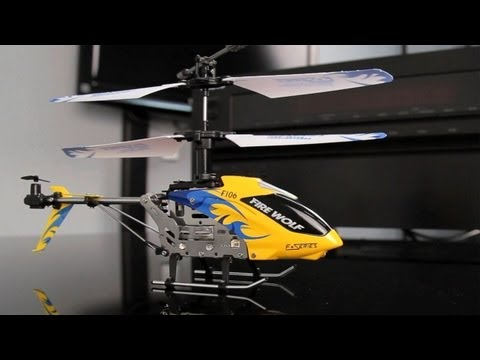 Fire Wolf F106 4ch Co-axial Rc Helicopter Review
