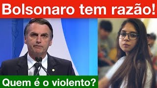Presidente Jair Bolsonaro salva menina de 13 anos... SQN.