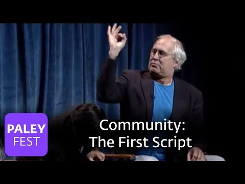 Community - Chevy Chase & Ken Jeong on the First Script (Paley Center, 2010)