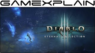 10 Minutes of Diablo III: Eternal Collection DIRECT FEED Gameplay (Nintendo Switch)