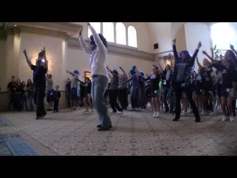 Hornets Cheerleading Flash Mob - 2014 Nationals video