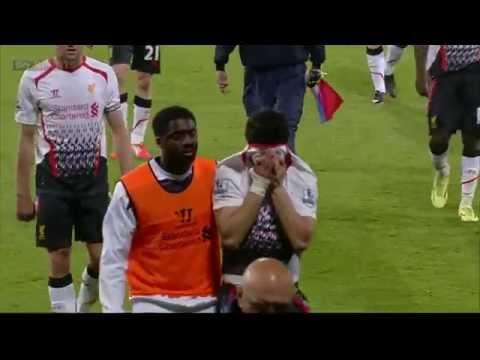 Разбитое сердце Ливерпуля . Слёзы Джерарда и Суареса .