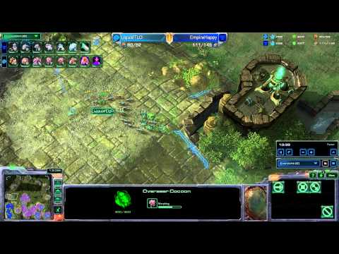 HD Starcraft 2 TLO v Happy ZvT g1