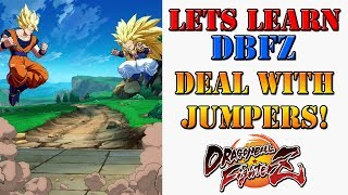 Lets learn DBFZ! - How to deal with people who keep jumping