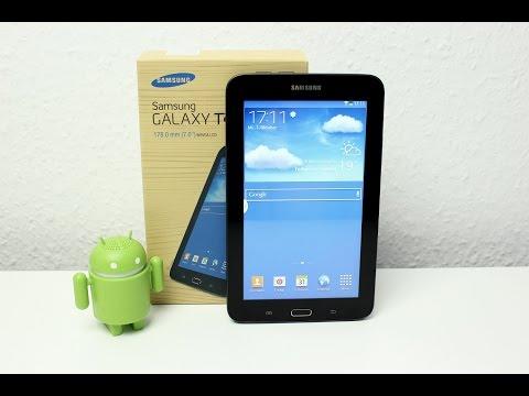 Samsung Galaxy Tab 3 Lite 7.0 ausgepackt und erster Eindruck (Deutsch) | InstantMobile
