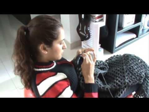 COMPARTIMOS VIDEOS PASO A PASO DE: TEJIDO EN DOS AGUJAS, GANCHILLO