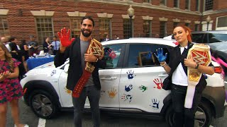 Seth Rollins, Becky Lynch & WWE Superstars support Hyundai Hope on Wheels
