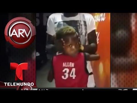 VIDEO: NIÑO PARECE TENER CUELLO DE GOMA PORQUE GIRA SU CABEZA