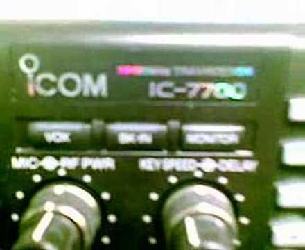 ICOM IC-7700 ICOM DAY