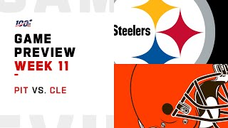 Pittsburgh Steelers vs Cleveland Browns Week 11 NFL Game Preview