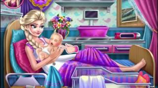 Hướng dẫn chơi game chăm sóc em bé cùng Elsa